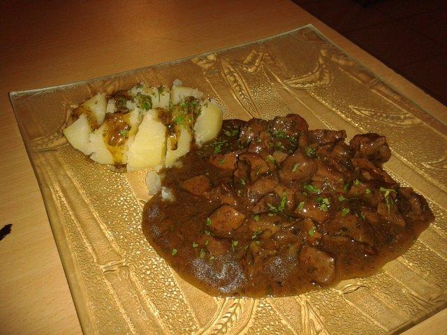 Rognons de boeuf sauce madere les recettes d alicia - Cuisiner rognon de boeuf ...